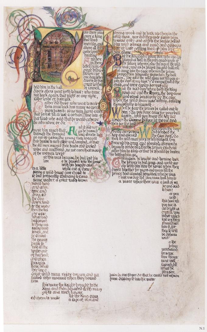 Morris-calligraphy